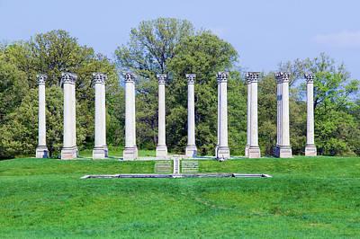 National Capitol Columns, Corinthian Art Print
