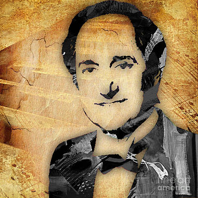 Neil Mixed Media - Neil Sedaka Collection by Marvin Blaine