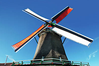 Netherlands, North Holland, Zaanstad Art Print