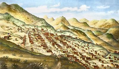 Grafton Painting - Nevada Virginia City by Granger