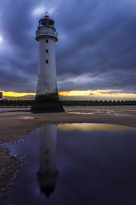 Aromatherapy Oils Royalty Free Images - New Brighton lighthouse Royalty-Free Image by Paul Madden