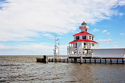 South Louisiana Photograph - New Canal Lighthouse by Scott Pellegrin
