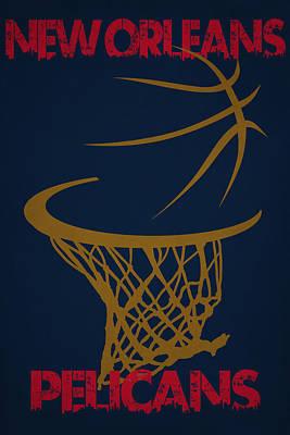 Orleans Photograph - New Orleans Pelicans by Joe Hamilton