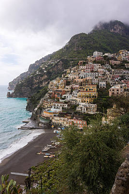 Photograph - Positano Italy by Mike Evangelist