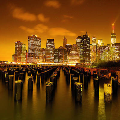 Photograph - New York City by Mitch Cat