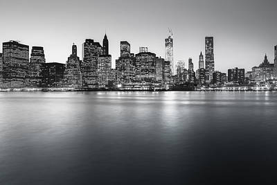 Freedom Tower Photograph - New York City Skyline by Vivienne Gucwa