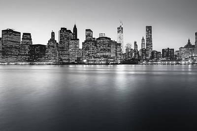 New York City Skyline Print by Vivienne Gucwa