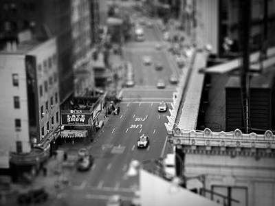 New York In Miniature Photograph - New York City Street Scene by Jamie Starling