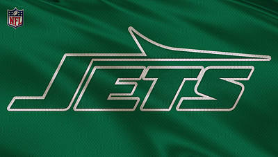 New York Jets Uniform Art Print