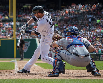 Photograph - New York Mets V Detroit Tigers by Dave Reginek