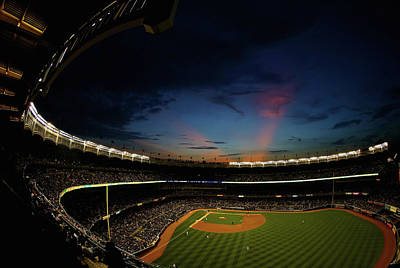 The Met Photograph - New York Mets V New York Yankees by Al Bello