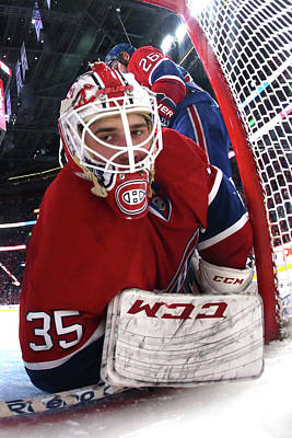 Photograph - New York Rangers V Montreal Canadiens - by Bruce Bennett