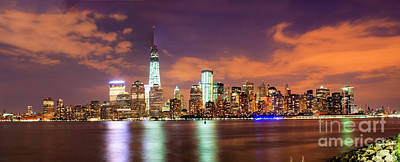 Photograph - New York Skyline by David Bishop
