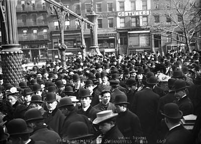 New York Suffragettes Art Print by Granger