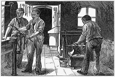 Prison Painting - Newgate Prison, 1873 by Granger