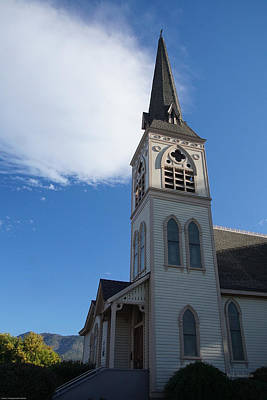 Photograph - Newman United Methodist Church by Mick Anderson