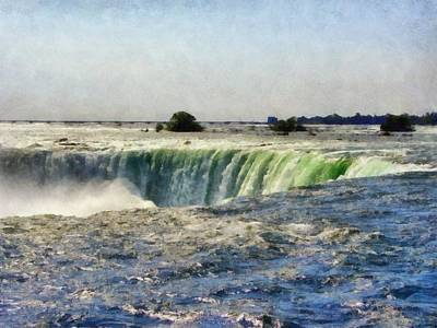 Photograph - Niagara Falls by Michelle Calkins