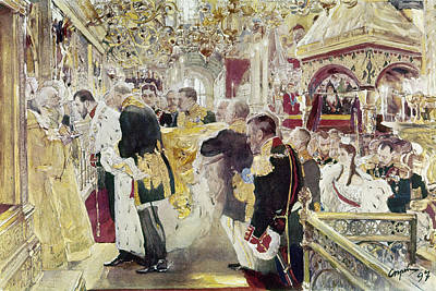 Orthodox Painting - Nicholas II (1868-1918) by Granger