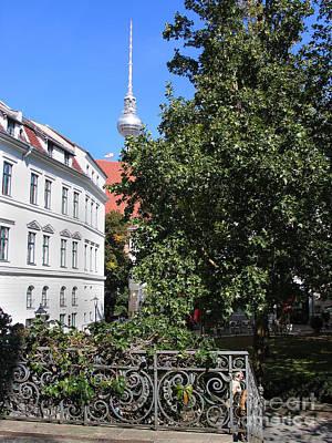 Photograph - Nikolaiviertel And Alexanderturm by Art Photography