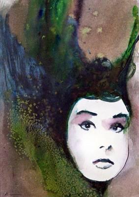 Nina Art Print by Ed  Heaton