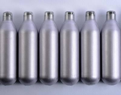 Inhale Photograph - Nitrous Oxide Capsules by Cordelia Molloy