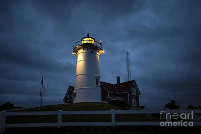 Nobska Lighthouse Art Print by John Greim