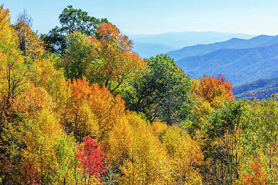 Appalachian Mountains Photograph - North Carolina, Great Smoky Mountains by Jamie and Judy Wild