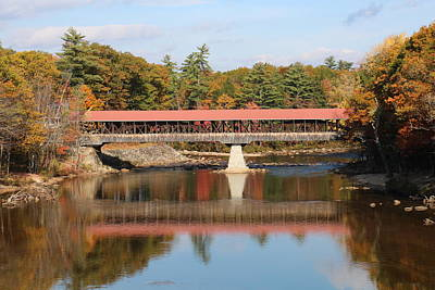 Photograph - Nh Covered Bridge  by Jeffery Akerson