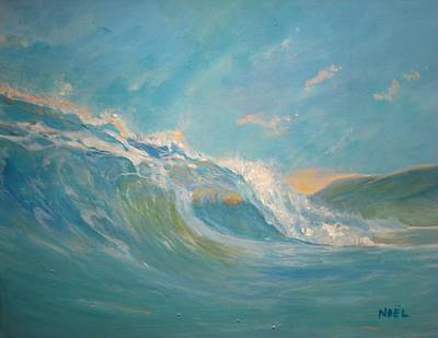 North Sea Painting - North Shore Oahu by Jim Noel