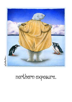 Painting - Northern Exposure... by Will Bullas