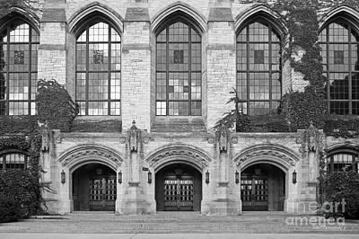 Photograph - Northwestern University Deering Library by University Icons
