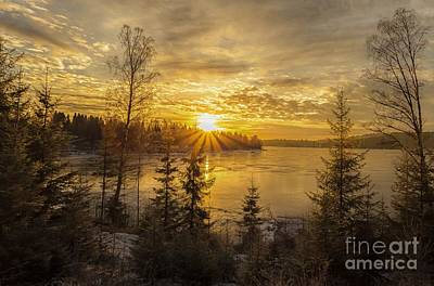 Art Print featuring the photograph Norway by Rose-Maries Pictures
