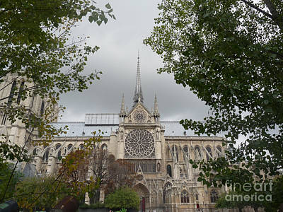 Art Print featuring the photograph Notre Dame Cathedral by Deborah Smolinske