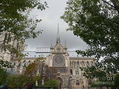 Photograph - Notre Dame Cathedral by Deborah Smolinske