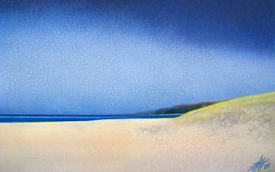 Painting - November Shoreline by Robin Street-Morris