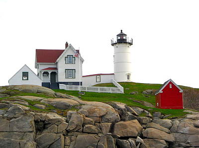 Photograph - Nubble Lighthouse by Denise Mazzocco