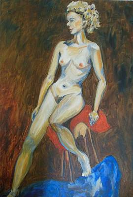 Painting - Nude So Delicate by Esther Newman-Cohen