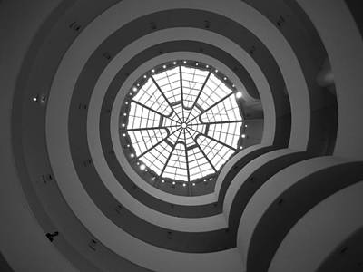 Window Photograph - Nyc Guggenheim by Nina Papiorek