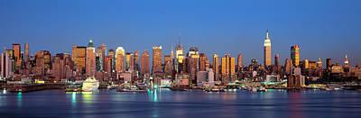 Nyc, New York City New York State, Usa Art Print by Panoramic Images