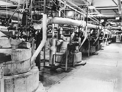 Nylon Production, 1950s Art Print