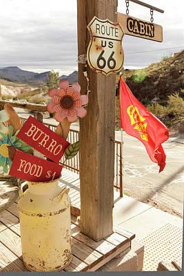 Mining Photograph - Oatman, Arizona, United States by Julien Mcroberts