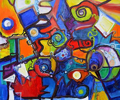 Painting - Observable by Regina Valluzzi