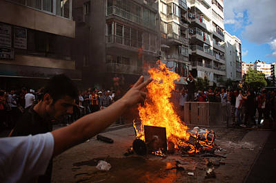 Occupy Photograph - Occupy Gezi - Protests Against Turkish Government by Ilker Goksen