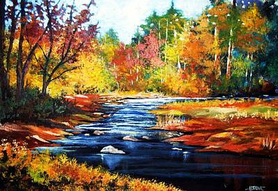 Painting - October Bliss by Al Brown