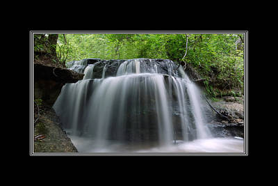 Photograph - Odom Creek Falls Georgia by Charles Beeler
