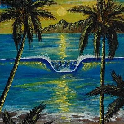 Acrylic Wall Art - Photograph - 2 Of 2 #painting Of #surf My #travels by Paul Carter