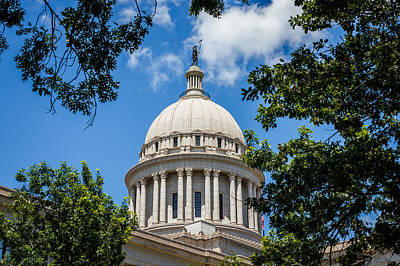 Oklahoma State Capital Dome Art Print by Doug Long