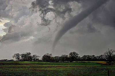 Photograph - Oklahoma Swirl by Zach  Roberts