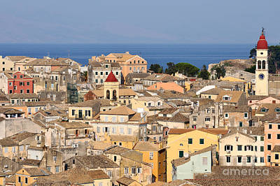 Photograph - Old City Of Corfu by George Atsametakis