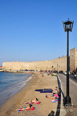 Old City Of Rhodes Art Print